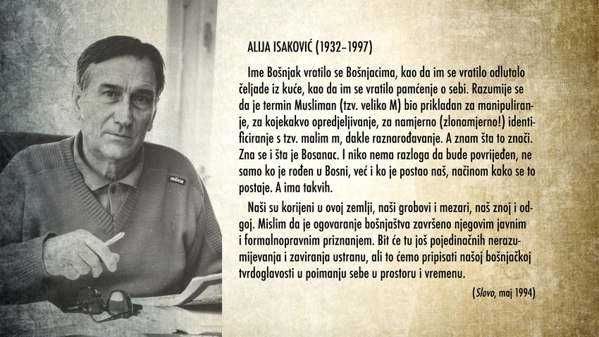 Alija Isakovic Bosnjaci