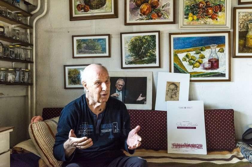 EKMEČIĆ: Jedan sam od najstarijih slikara, ovaj stan moj je Hag