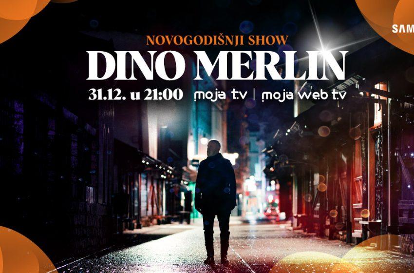 Novogodišnji show Dine Merlina ekskluzivno na Moja TV i Moja webTV