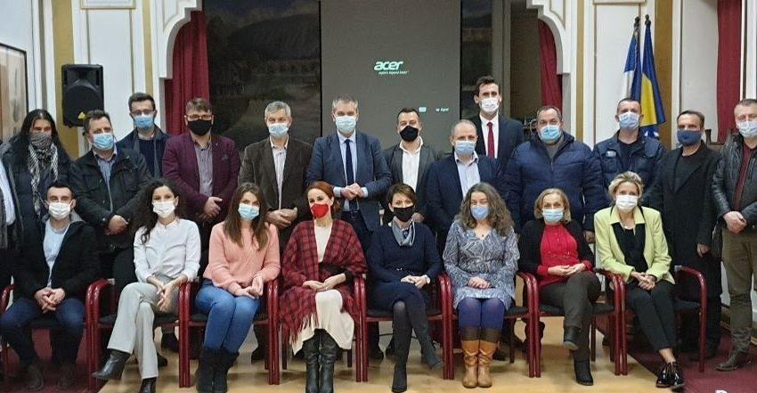 """Predsjednik BZK """"Preporod"""" posjetio Krajinu"""