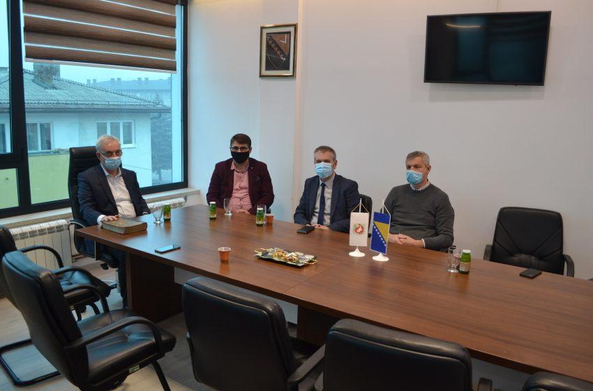"""Predsjednik BZK """"Preporod"""" sa saradnicima posjetio Općinu Ilijaš"""
