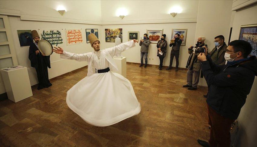 """GALERIJA """"PREPOROD"""": Otvorena izložba posvećena Hz. Mevlani Dželaludinu Rumiju"""