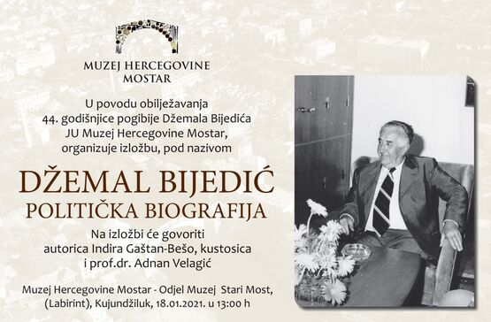 Izložba povodom 44. godišnjice pogibije Džemala Bijedića