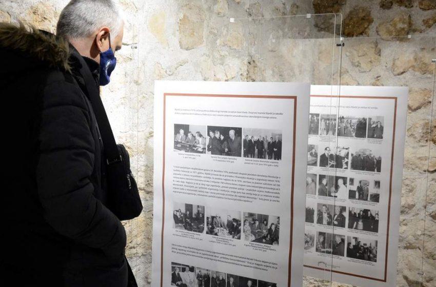 Otvorena izložba u povodu 44. godišnjice pogibije Džemala Bijedića