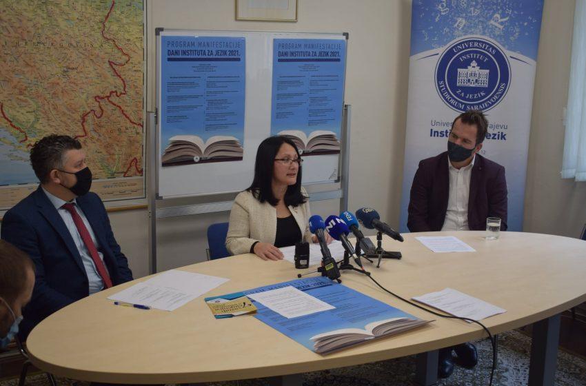 Konferencija za medije povodom nastupajućih Dana Instituta za jezik 2021.