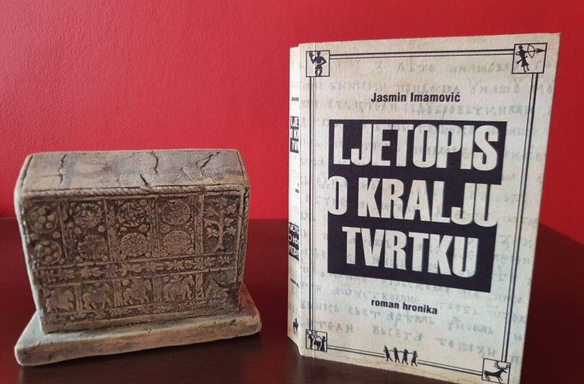 """Na 630. godišnjicu smrti kralja Tvrtka I promocija romana """"Ljetopis o kralju Tvrtku"""" Jasmina Imamovića"""