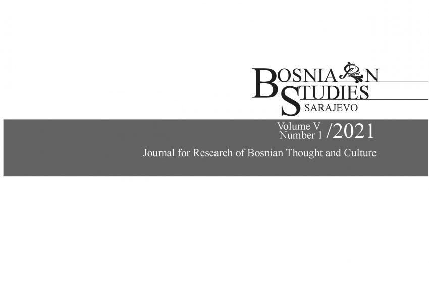 """Objavljen novi broj časopisa """"Bosnian studies"""""""