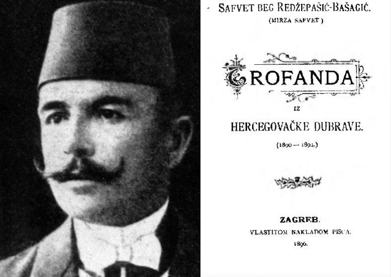 """Safvet-beg Bašagić: """"Trofanda iz hercegovačke dubrave"""" (1896)"""