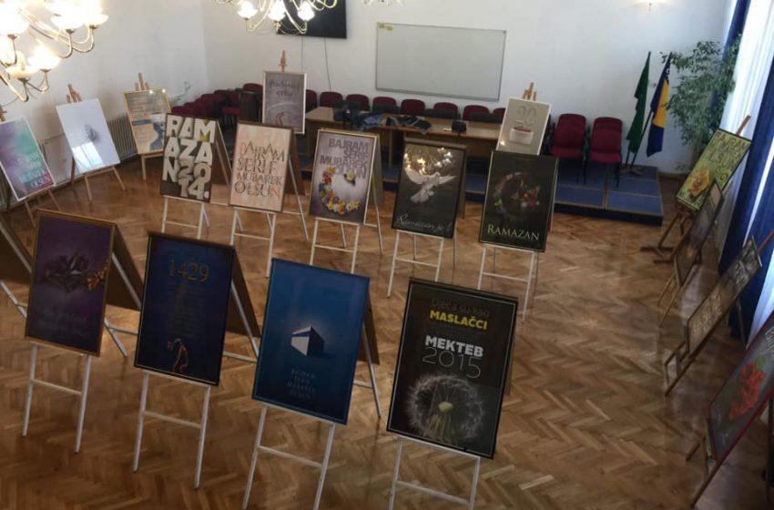 Izložba plakata za Muftijstvo zeničko autora Saladina Pašalića