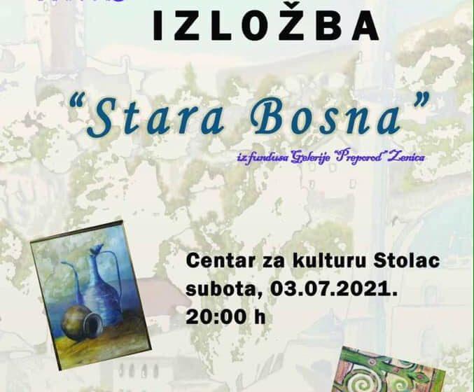 "Izložba slika ""Stara Bosna"" u Galeriji ""Preporod"" Zenica"