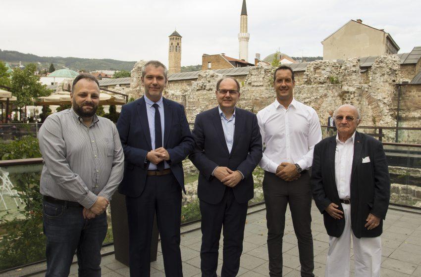 """Visoki predstavnik Christian Schmidt sastao se sa predsjednikom BZK """"Preporod"""" i ostalim članovima Međukulturalnog vijeća"""