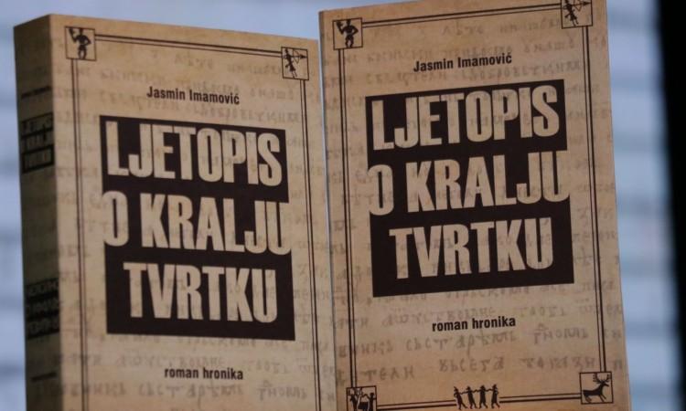 """Predstavljanje romana-hronike """"Ljetopis o kralju Tvrtku"""" Jasmina Imamovića u Goraždu"""