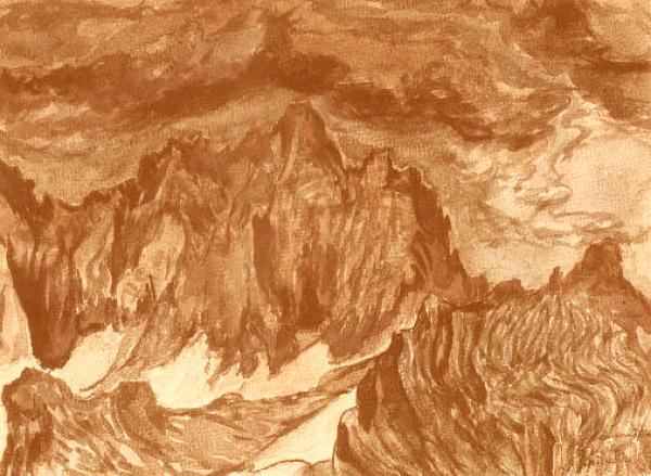 """Lazar Drljača: """"Planina"""""""