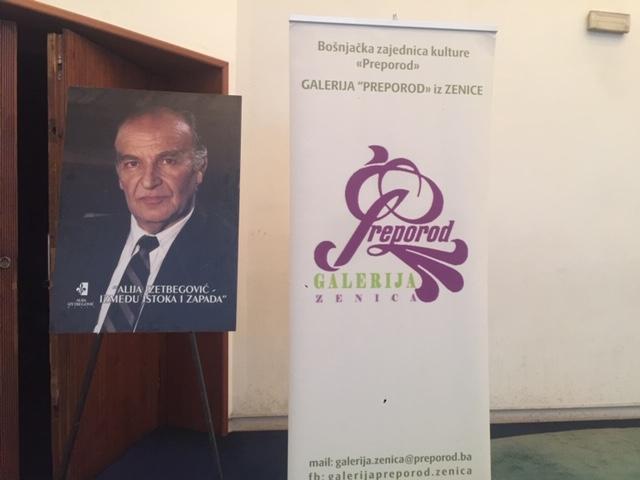 """Otvorena izložba """"Alija Izetbegović između Istoka i Zapada"""""""