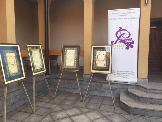 """U Atriju Sultan-Ahmedove medrese u Zenici održana izložba """"Hilye i Šerifi"""""""